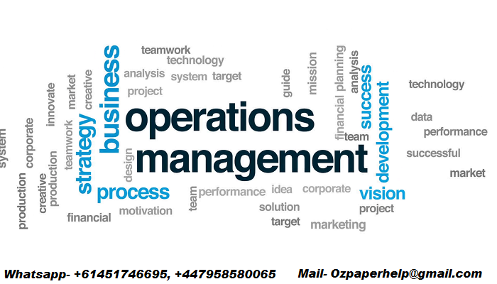 MGMT6003 Operations Management