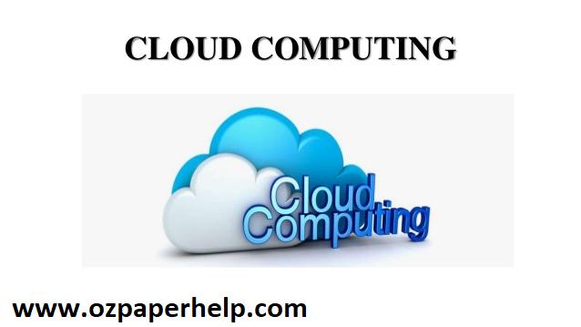 Cloud Computing Assignment Help