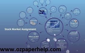 Stock market assignment help