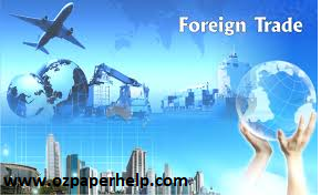 Foreign Trade Assignment Help
