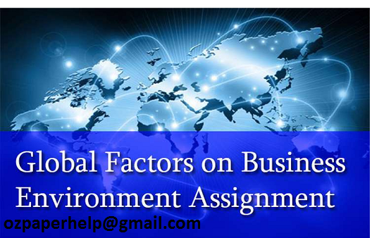 Business Environment Assignment Help