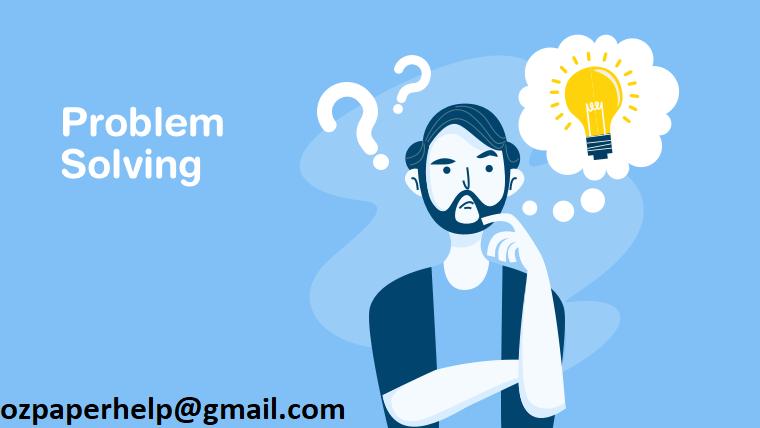 Problem-solving Assignment Help