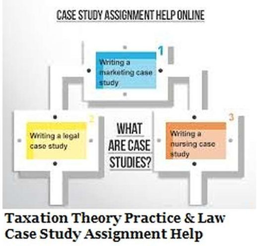 Taxation Case Study Assignment
