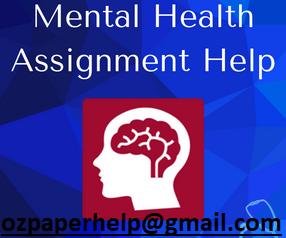 Mental Health Assignment Help