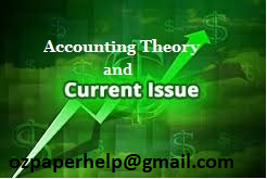MA601 Current Issues in Accounting Assignment