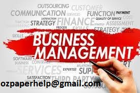 Business and Management assignment help