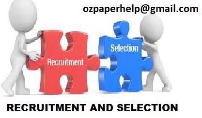 Recruitment Process Assignment Help Uk