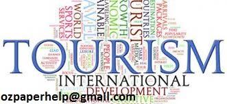 Tourism Management Assignment help