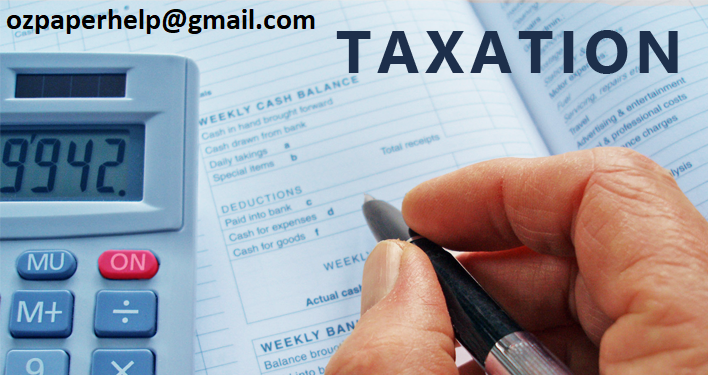 Taxation Assignment Help UK