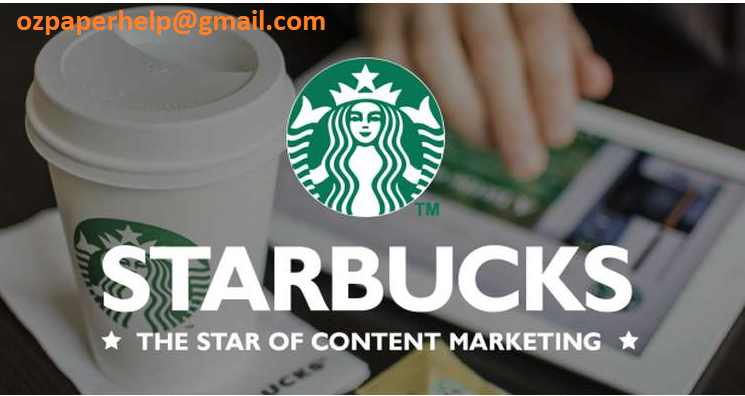Starbucks Market Status Assignment