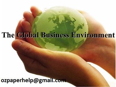 HI6005 Global Environment assignment help