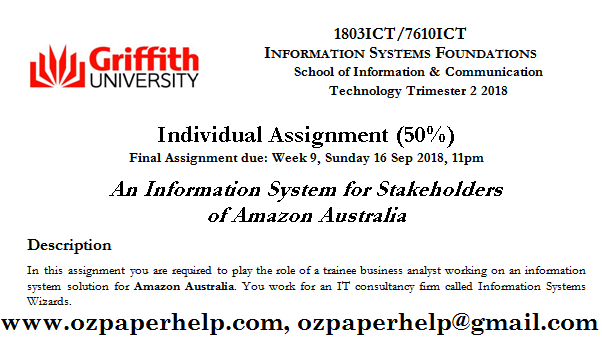 An Information System for Stakeholders of Amazon Australia