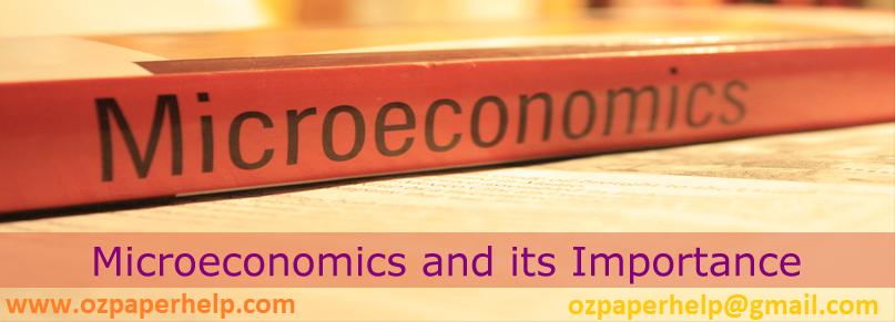 ECO101 Microeconomics Assignment Help