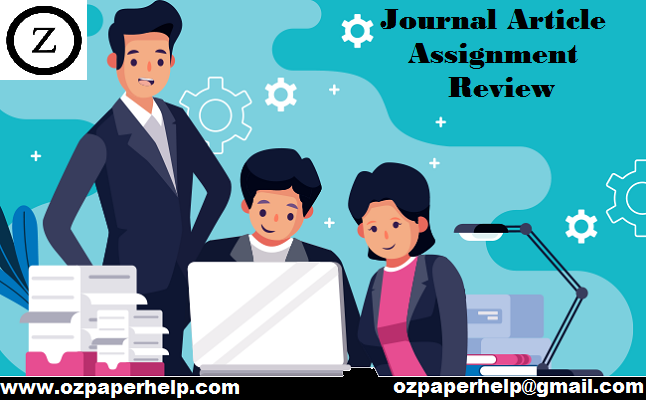 Journal Article Assignment Review