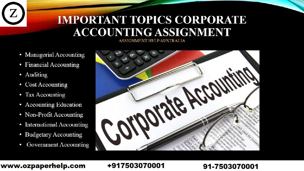 HI5020 Corporate Accounting Assignment Help