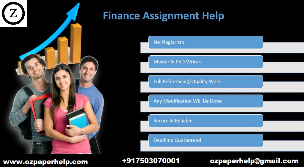 FDN122 Finance Assignment Help