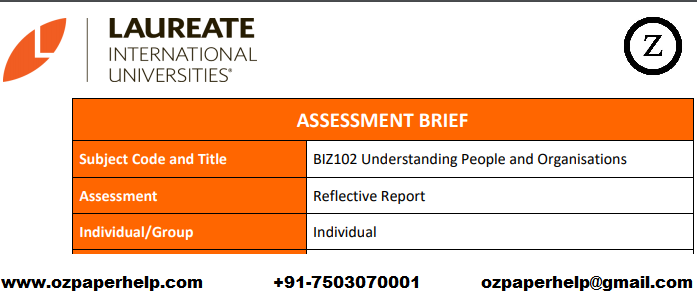 BIZ102 Organisation Assignment help