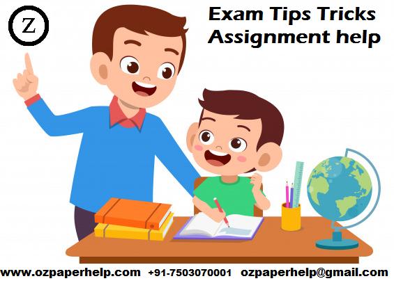 Exam Tips Tricks Assignment help