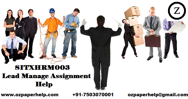 SITXHRM003 Lead Manage Assignment Help
