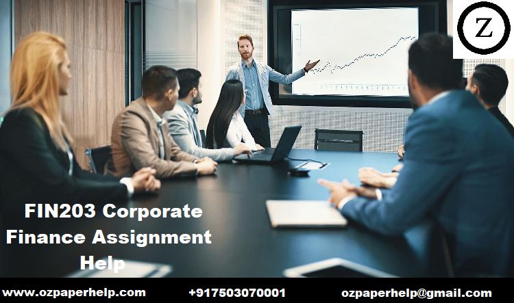 FIN203 Corporate Finance Assignment Help