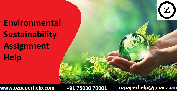 Environmental Sustainability Assignment Help