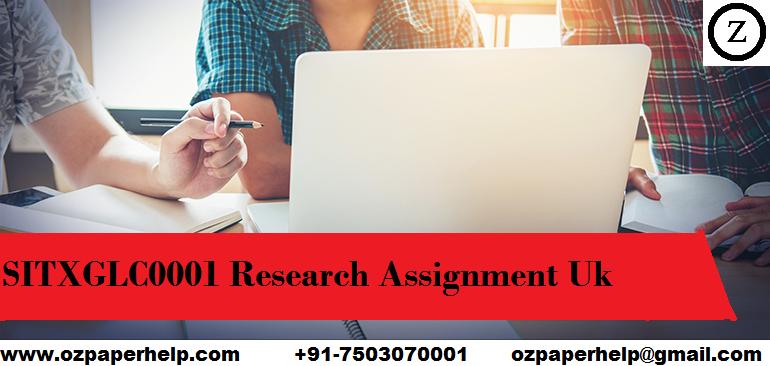 SITXGLC0001 Research Assignment Uk