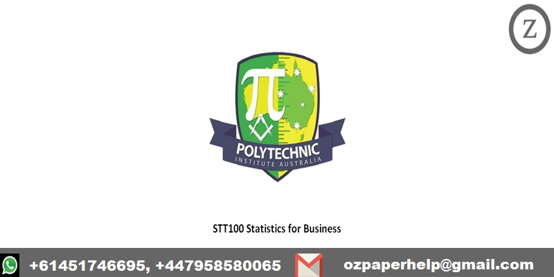 STT100 Statistics for Business