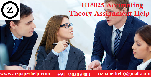 HI6025 Accounting Theory Assignment Help