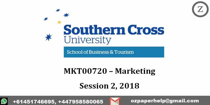 MKT00720 – Marketing