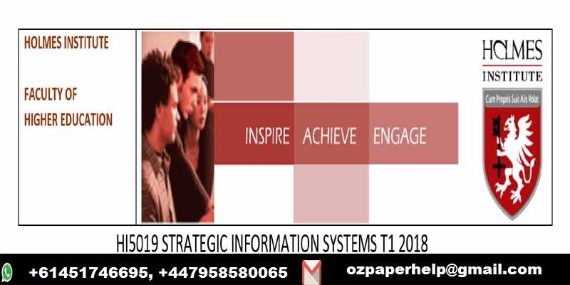HI5019 STRATEGIC INFORMATION SYSTEMS