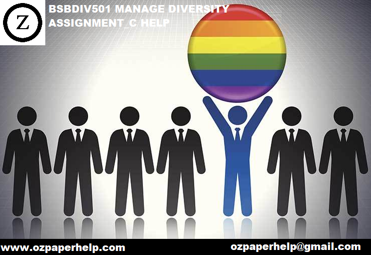 BSBDIV501 MANAGE DIVERSITY ASSIGNMENT_C HELP