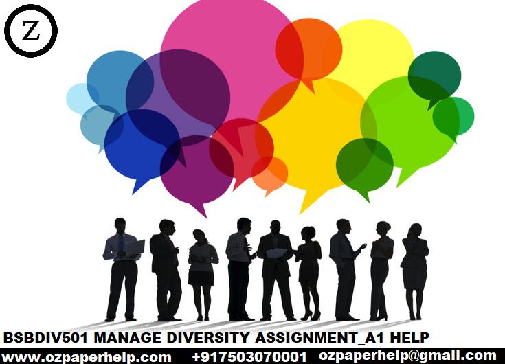 BSBDIV501 MANAGE DIVERSITY ASSIGNMENT_A1 HELP