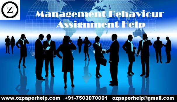 Management Behaviour Assignment Help