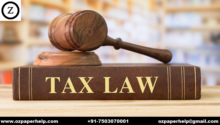 HI6028 Taxation Law Assignment Australia