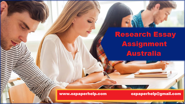 Research Essay Assignment Australia