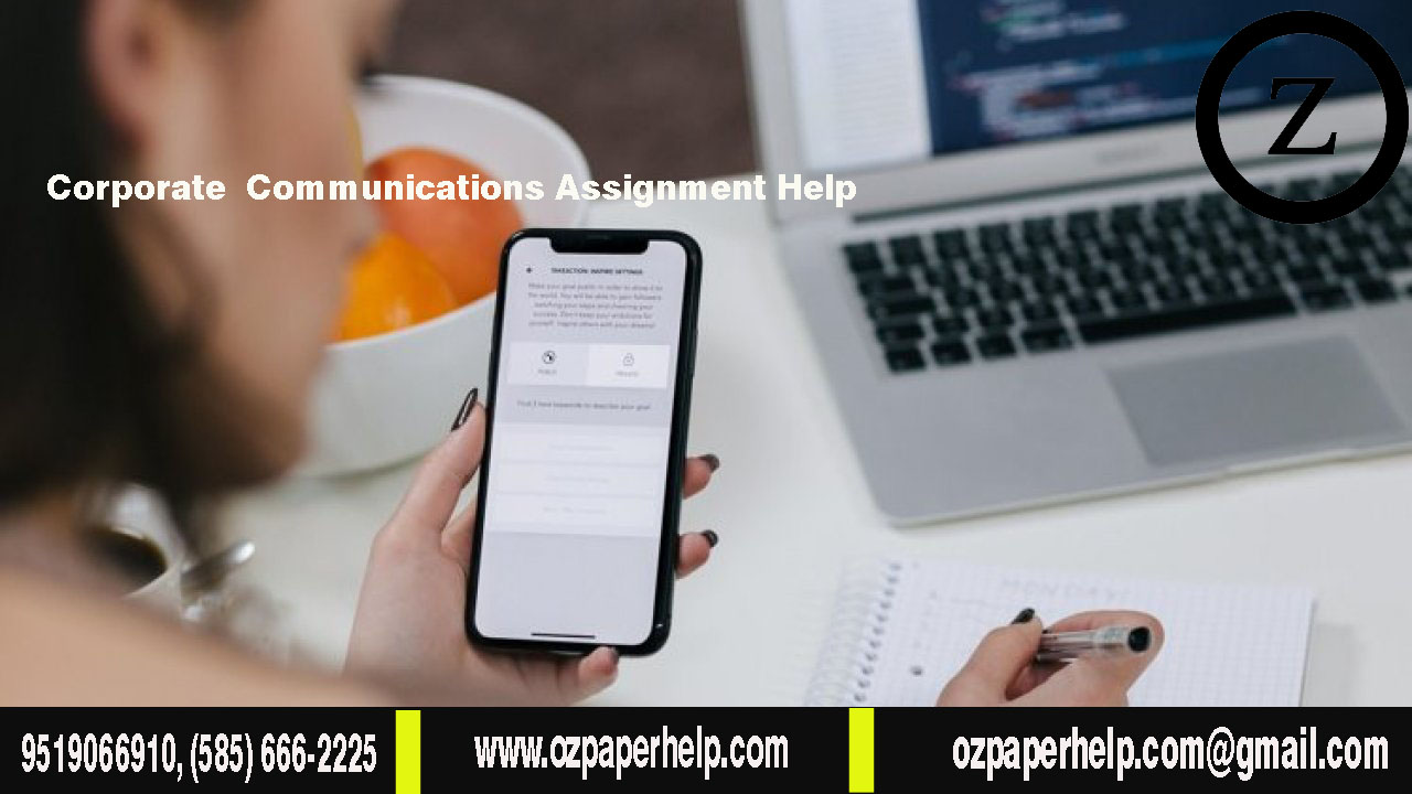 Corporate Communications Assignment Help
