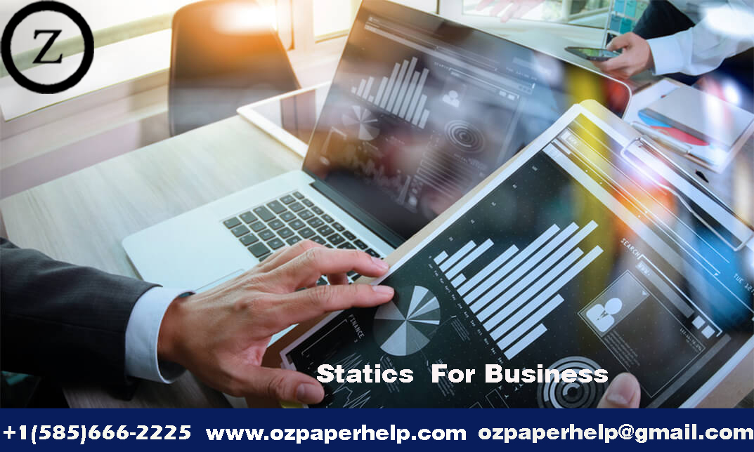 Statics For Business Assignment Help