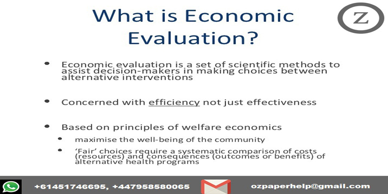 49003 ECONOMIC EVALUATION