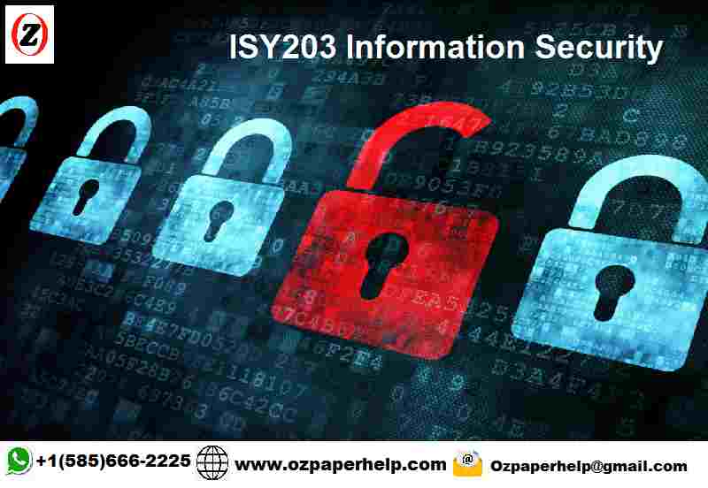 ISY203 Information Security Assignment Help
