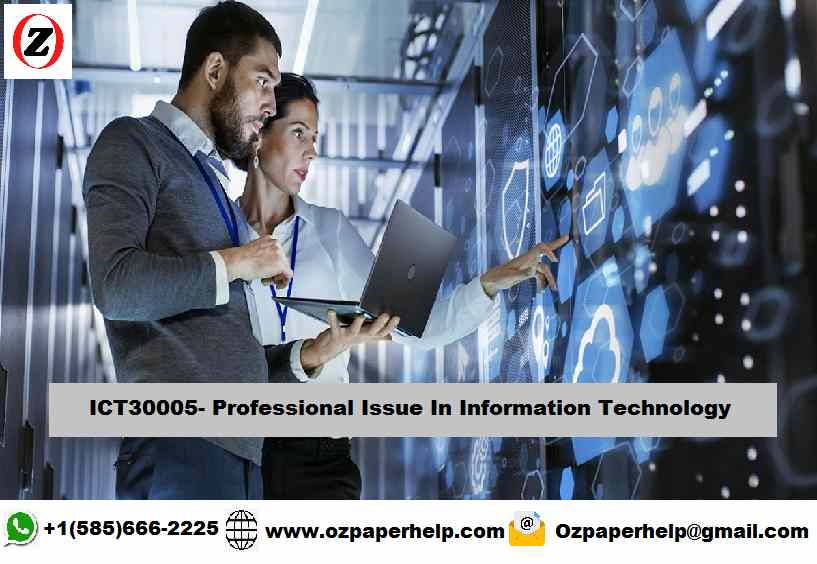 ICT30005 Professional Issue In Information Technology