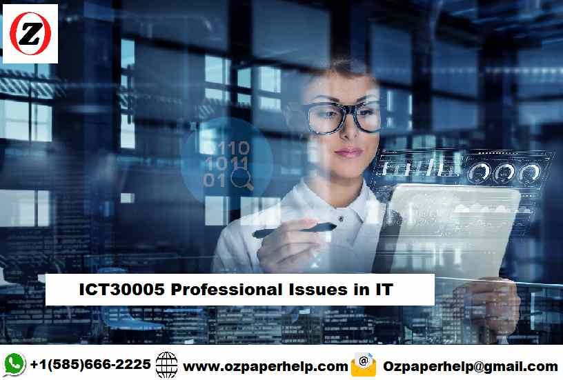 ICT30005 Professional Issues in IT