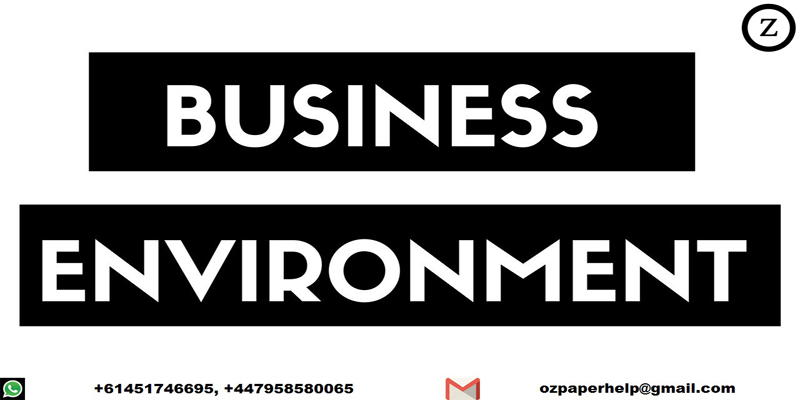 BUSINESS AND BUSINESS EVIRONMENT