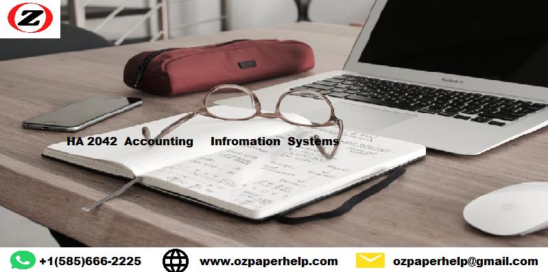 HA 2042 Accounting Information