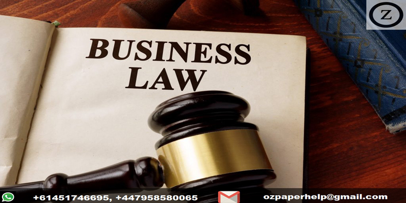 Business and Corporations Laws