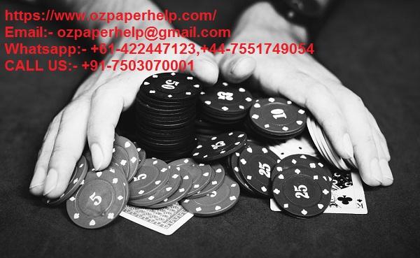 CAUSE OF GAMBLING IN AUSTRALIA