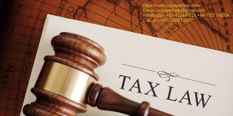 ACC708 Taxation Law