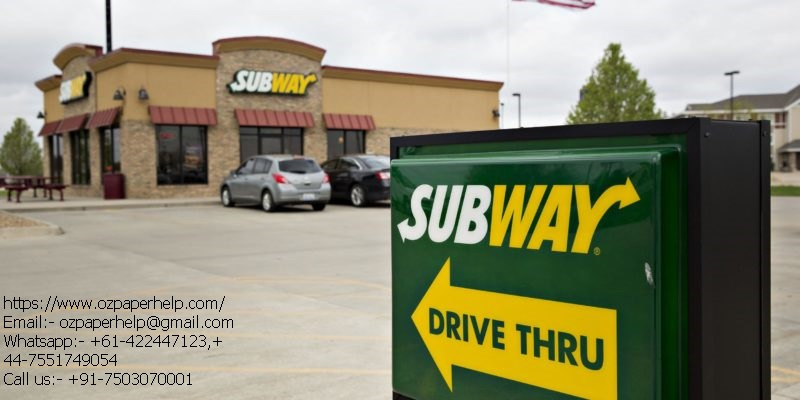 IMPROVE BUSINESS PERFORMANCE OF SUBWAY