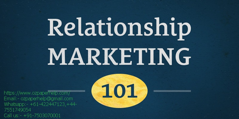 Services Marketing and Relationship Marketing