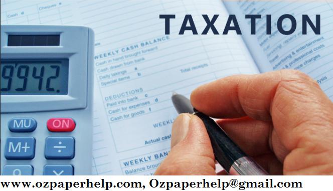 HI6028 Taxation Law