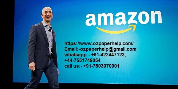 Jeff Bezos- Amazon Assignment Help